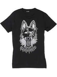 Volcom-Turbonegro-German-Shepard-Turbojugend-Tee-black-RAR-T-Shirt-NEUWARE-Gr-S