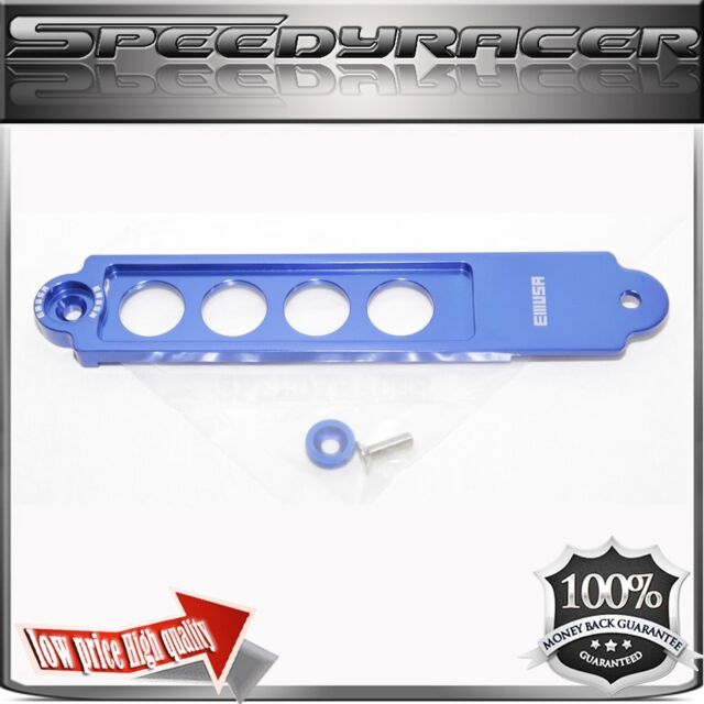 Billet Battery Tie Down For 02 03 04 05 06 Acura RSX BLUE