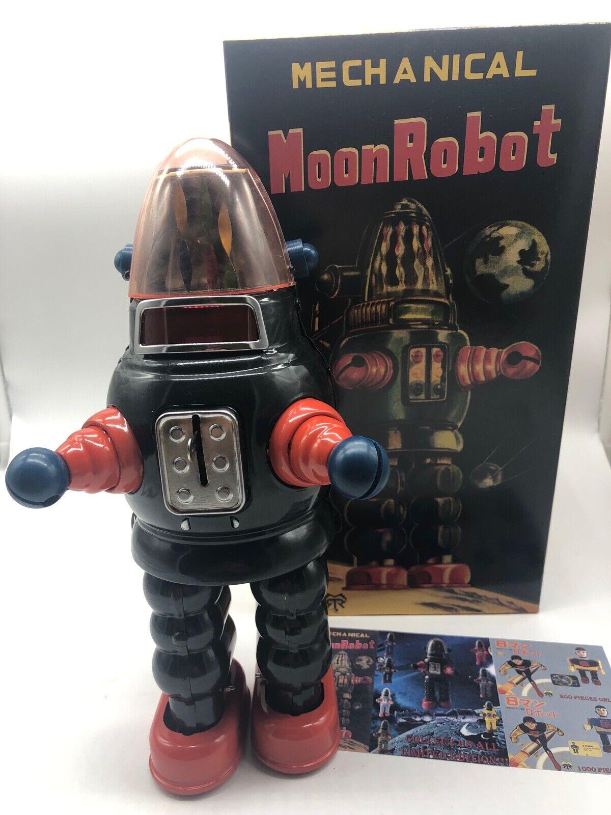 MOON ROBOT ROBBY THE ROBOT YONEZAWA ROBOT TIN TOY NOMURA YOSHIYA HORIKAWA