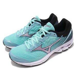 Mizuno-Wave-Rider-22-Wide-Blue-Silver-Women-Running-Shoes-Sneakers-J1GD1832-69