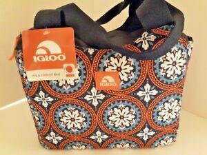 IGLOO-12-Tote-Soft-Medium-12-034-x-5-x10-034-Insulated-Lunch-Bag-Leak-Proof-Brand-New