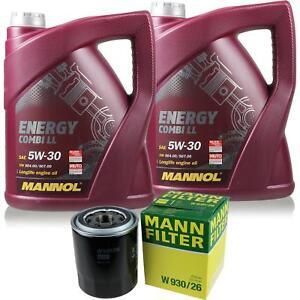 Motor-Ol-5L-MANNOL-5W-30-Combi-LL-MANN-FILTER-KIA-Sorento-I-JC-2-5-CRDi