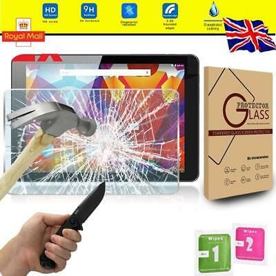 """5 Pack Clear Tablet Screen Protector Guard For Fusion5 power4 10.1/"""""""