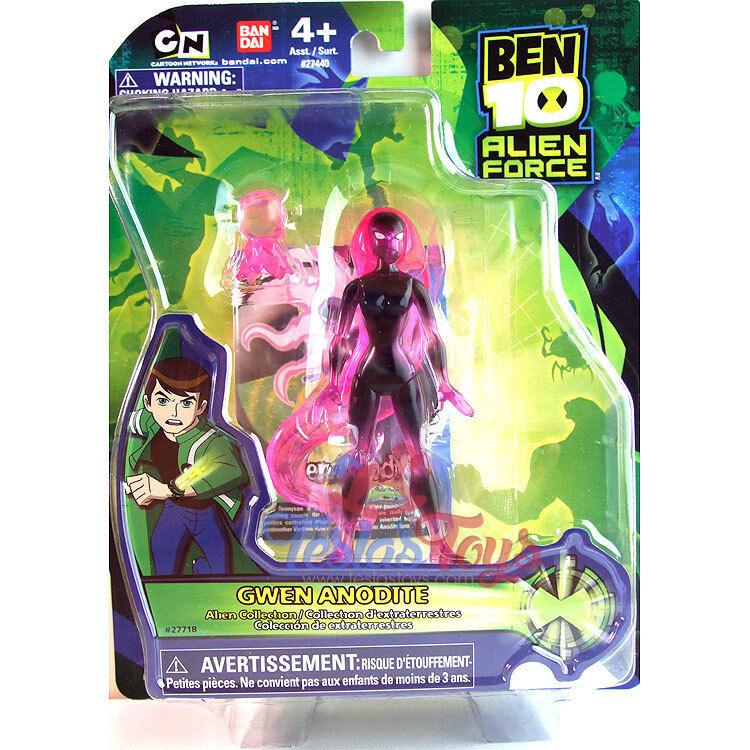 Ben 10 Alien Force Action Figure - Anodite Gwen