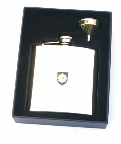 Royal Scots Army Regiment  6oz Hip Flask Military Personalised Gift BGK32