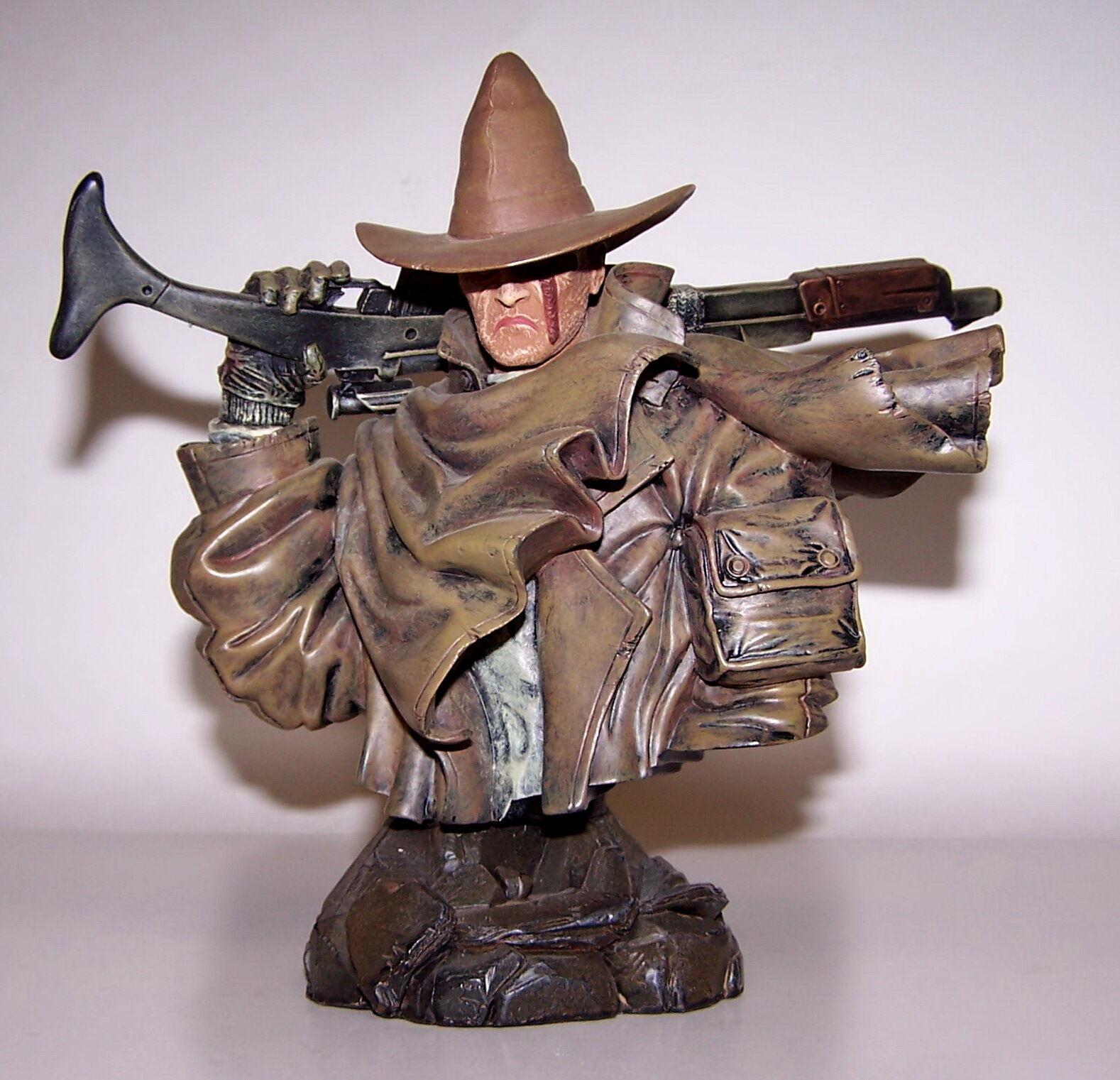 connotación de lujo discreta Solo un un un peregrino Busto de porcelana pintada a mano fría fundido le Toro Negro Nuevos En Caja 2001  cómodo