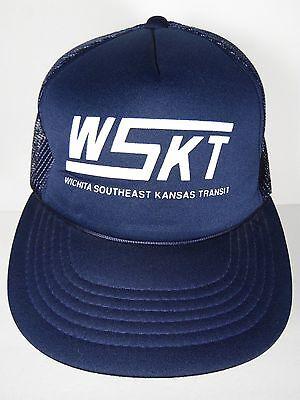 VINTAGE 1980s WSKT WICHITA SOUTHEAST KANSAS TRANSIT KANSAS ...