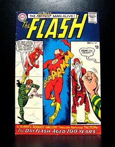 COMICS-DC-The-Flash-157-1965-the-Top-app-RARE