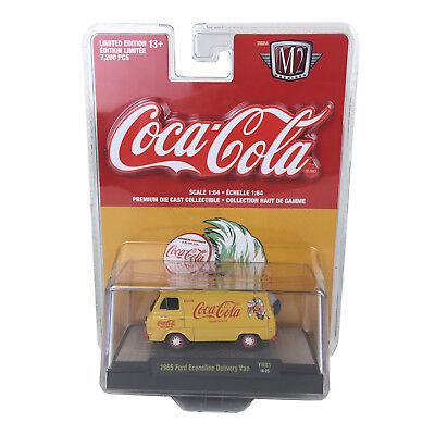 M2 MACHINES 1:64 Hobby Exclusive Coca-Cola R1 1965 FORD ECONOLINE Delivery Van