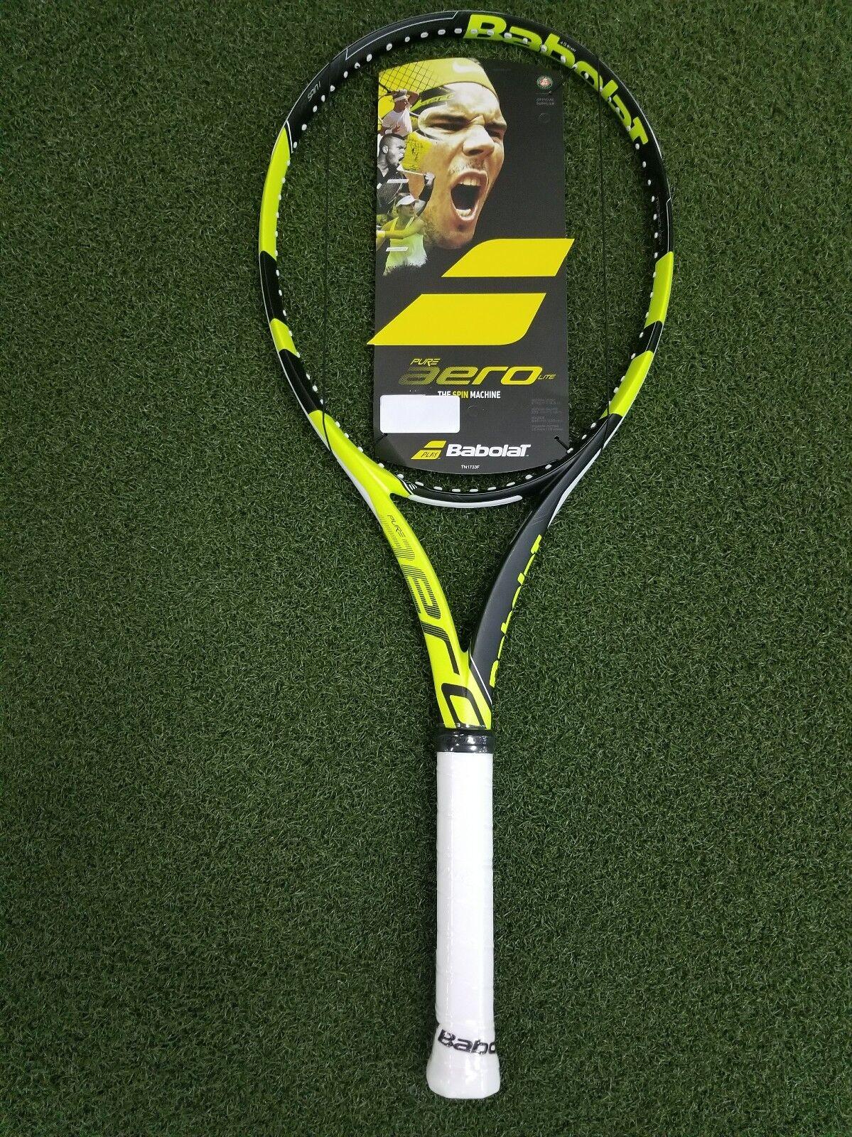 Nouvelle Babolat Pure Aero Lite Raquette de tennis 270g 9.5oz Grip 4 1 8