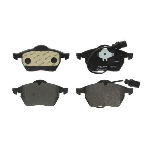 Scheibenbremse DELPHI LP1672 Bremsbelagsatz