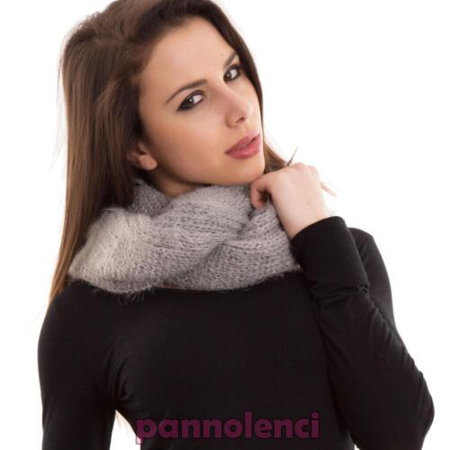Sciarpa donna collo ecopelliccia scaldacollo fascia accessori scarf nuova AC-01