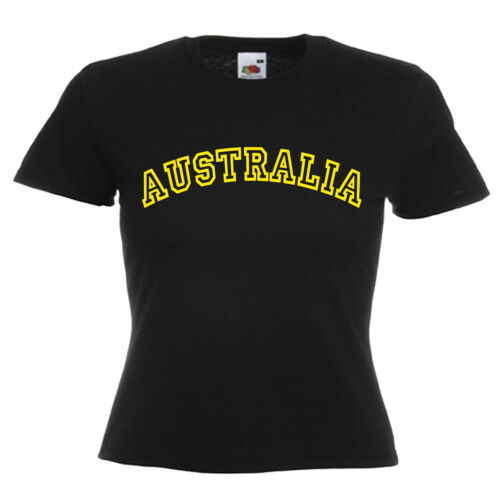 Australia Ladies Lady Fit T Shirt 13 Colours Size 6-16