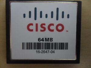 Cisco-64-MB-CF-Compact-Flash-Memory-Card-1811-1841-2801-2811-2821-2851-3825-3845