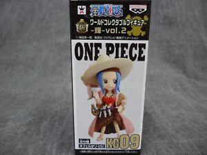 One Piece WCF NEW * Nefertari Vivi * KG09 Banpresto Bandai Mini Figure Anime NIB