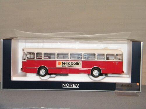 AUTOBUS SAVIEM S105M 1969 VILLE DE BORDEAUX NOREV 1//43 Ref 530040