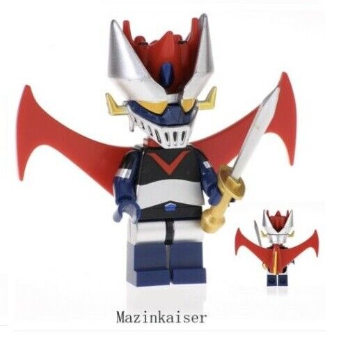 Nuovo in Blister Go Nagai Mazinkaiser Custom Figures Gashapon LEGO G3