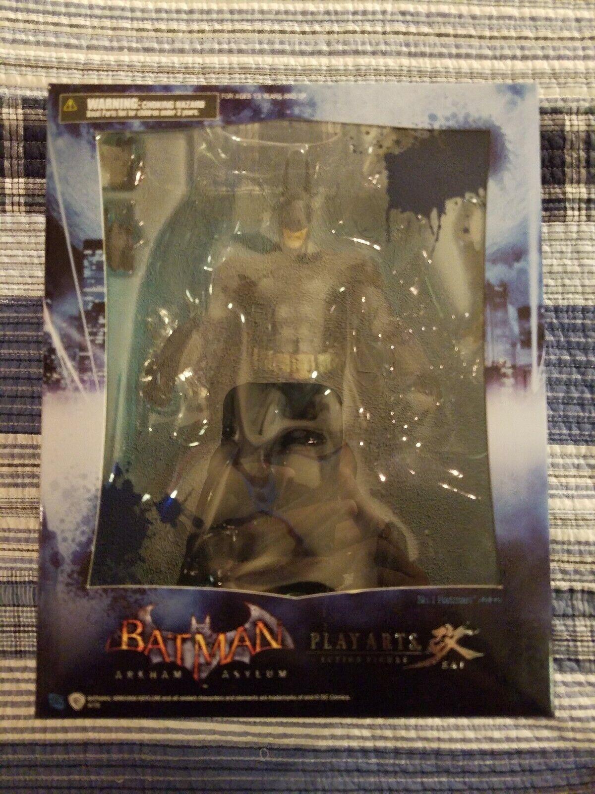 Play Arts  Kai Bathomme Arkham Asylum No. 1 Action Figure Brand nouveau  magnifique