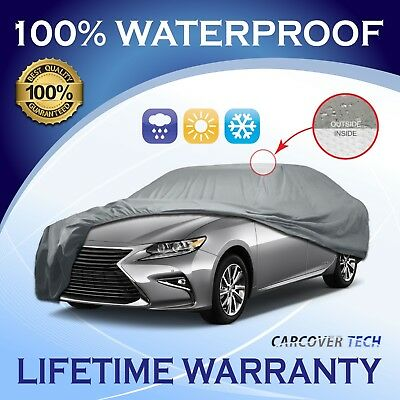 WATERPROOF CAR COVER W//MIRRORPOCKET FOR 2009 2010 2011 2012 2013 Infiniti QX56