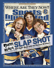 Hanson Brothers - Slapshot SI Cover July 2007, Color Photo