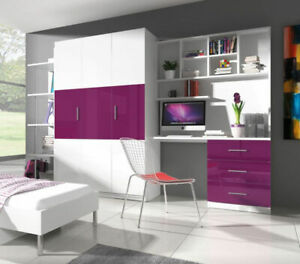 Wall Unit Study Home Office Furniture