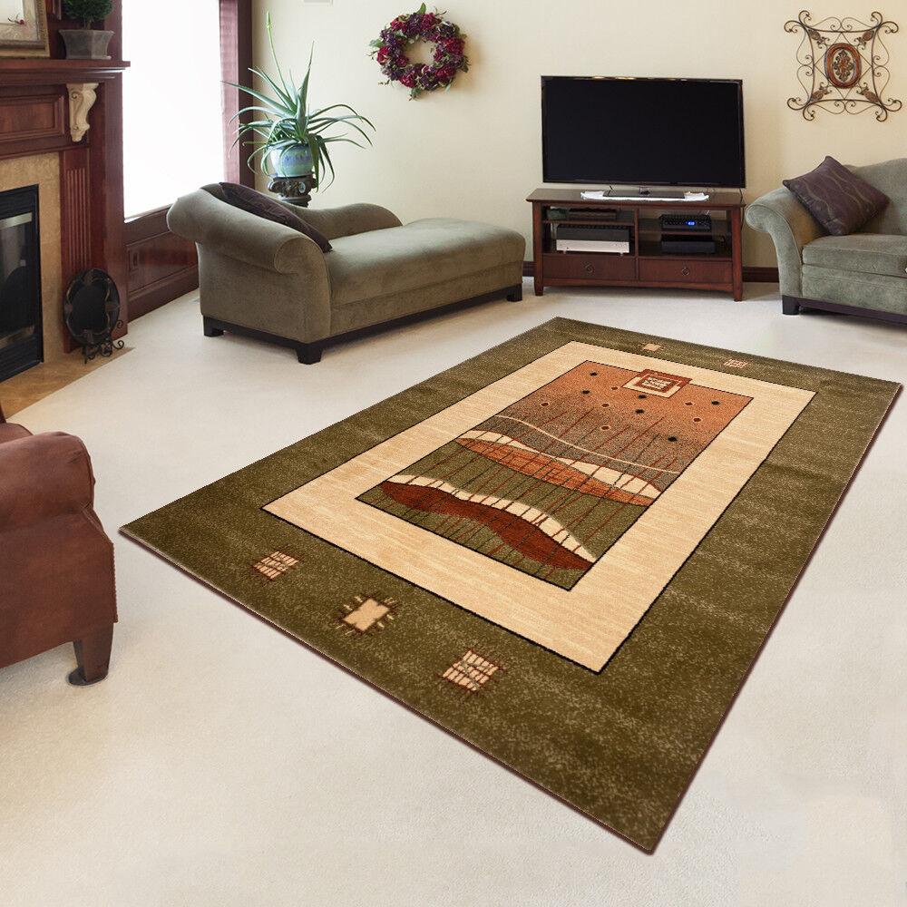 Nouveau tapis de style traditionnel tapis à la mode mode mode motif tailles s-xxl vert vente | Belle En Couleurs  04ddb3