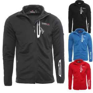 Geographical-Norway-hommes-sweat-veste-pull-Hoodie-polo-sweatjacke-NEUF
