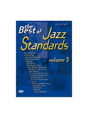 Keyboard & Piano The Best Of Jazz Standards Volume 3 Play Music Book Piano Vocal & Guitar Easy And Simple To Handle Instruction Books & Media