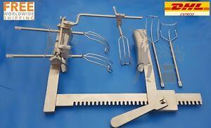 Cosgrove-Valve-System-Retractor-Complete-Set-Cardiovascular-Premium-Quality