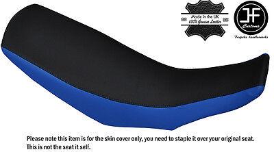 ROYAL BLUE /& BLACK CUSTOM FITS HONDA CRF 250 L 12-16 DUAL LEATHER SEAT COVER