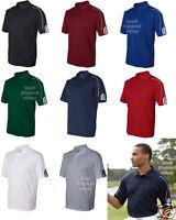 Adidas Golf Climalite Mens Size S-4xl Three Stripes Polo Sport Shirt A76