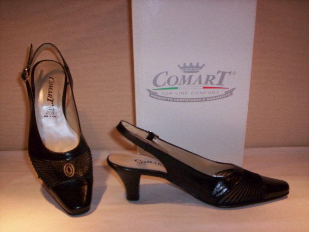 Classic schuhe elegant comfortable Comart Damens's Sandales elegant schuhe heels Leder schwarz 39 30d6eb