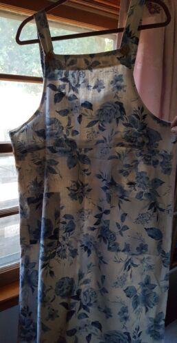 Overall Women's Dress by Two Twenty M L 12 14 16 o