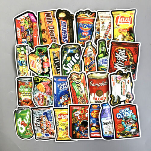 US SELLER 250 decals vinyl stickers for skateboard computer luggage