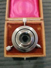 New Listingvintage E Leitz Wetzlar Condenser Microscope With Original Box Dunkelfeld