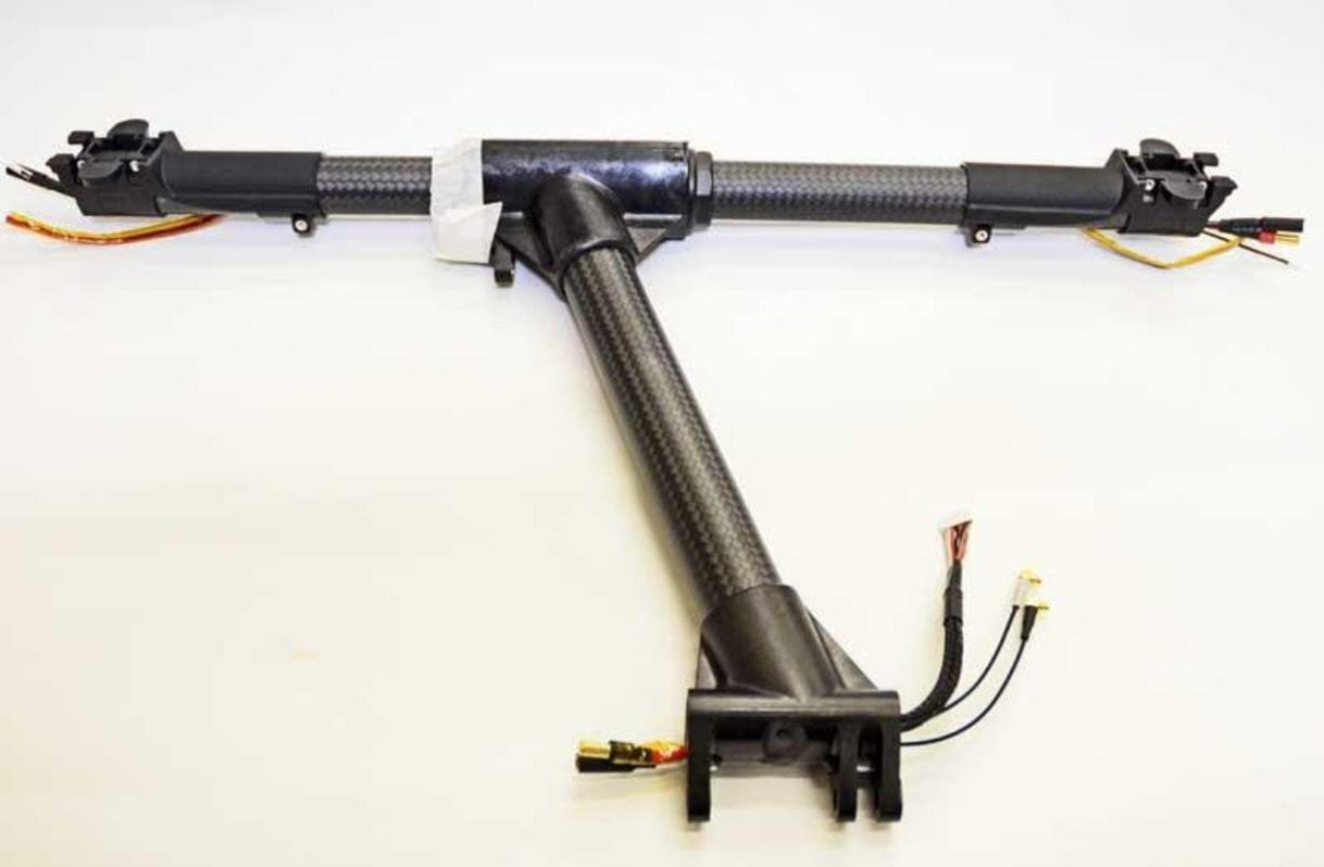 Nuevo Original DJI Inspire 1 brazo de la pierna derecha de Carbono Motor De Repuesto   01884