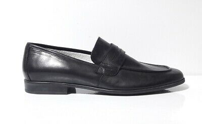 lion 20685 nero scarpe uomo mocassino pelle antistatico