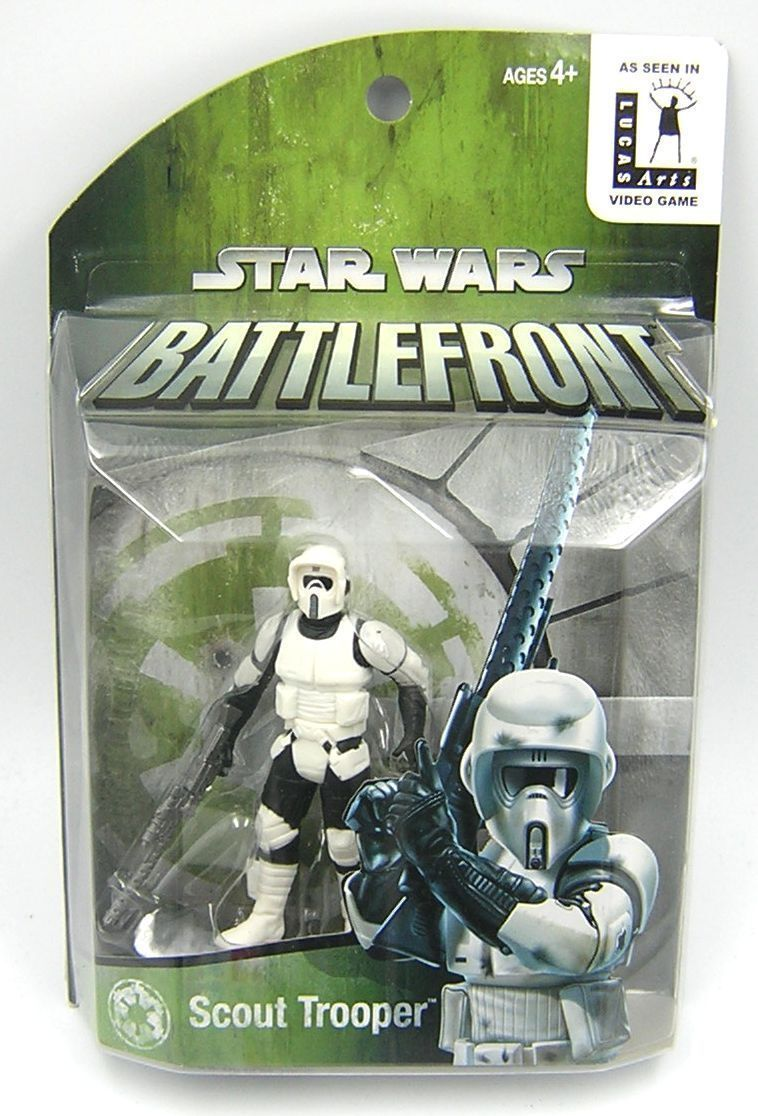 Star Wars POTJ Battlefront Scout Trooper Exclusive