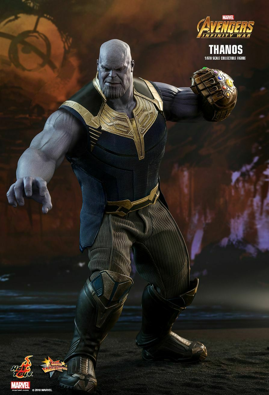 Hot Toys 1 6 Avengers  Infinity War MMS479 Titan Thanos 41.5cm Action Figure