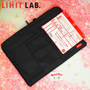 New LIHIT LAB A7554 bag-in-bag A4 Size Japan