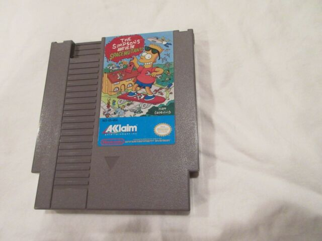 The Simpsons: Bart vs. The Space Mutants (NES, 1992), Cartridge Only