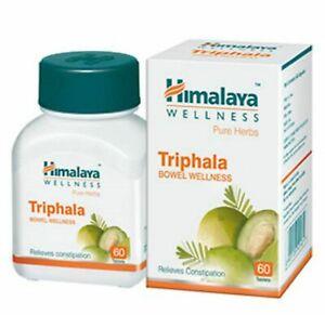 Himalaya-Triphala-trifala-BENESSERE-INTESTINO-60-Compresse-scegliere-BULK-spedizione-gratuita