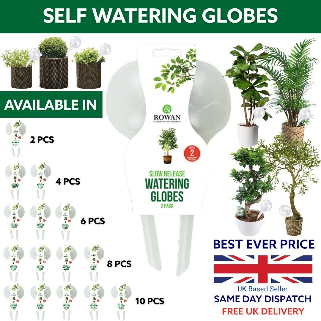 Watering Globes Slow Release Plant Flowers Self Watering Bulb Ball System🌲🌲