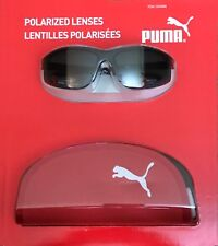 232b45a0d896 Genuine PUMA Sunglasses PU14706A Polarized Black Frame Unisex for ...