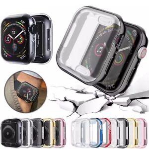 IWatch-Apple-Reloj-4-3-2-1-TPU-Series-Protector-Funda-Con-Pantalla-38mm-42mm