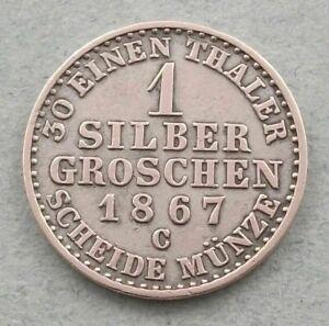 GERMANY-6-KREUZER-1837-gg-287