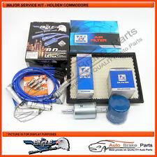Major Service Kit for Holden Commodore V6 3.8Ltr VT, VX, VU, VY with Heatshields