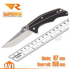 Sanrenmu 7076 beauty EDC folding knife. High performance blade. men gift.