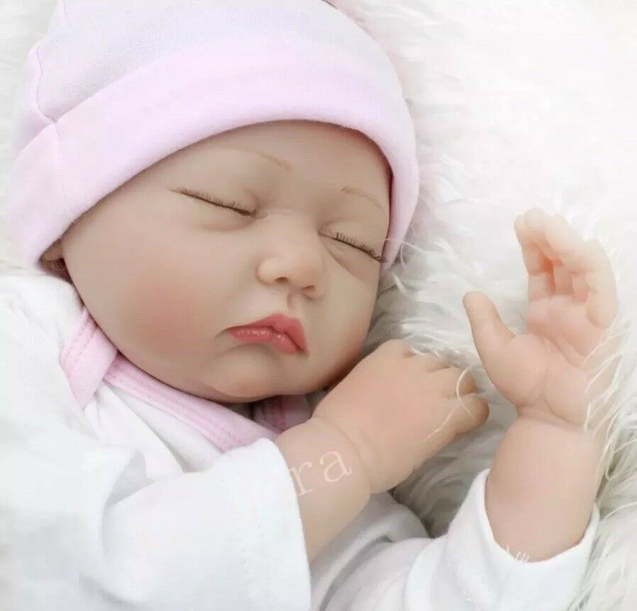 "Baby Reveal Party Reborn 22"" Girl   Boy Doll Like Newborn With Party Decorations"