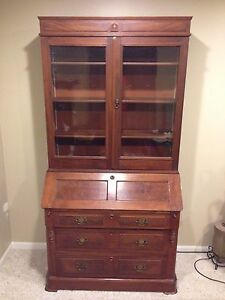 cabinet vintage farmhouse kitchen secretary desk hutch market il etsy